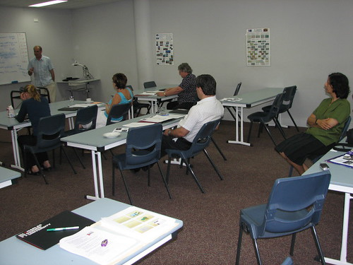 Introduction to Tertiary Teaching  workshop,Palmerston campus, Charles Darwin University