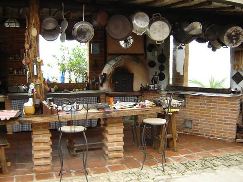 Turismo en vargas galipan restaurante tarahumara - Cocina antigua de lena ...