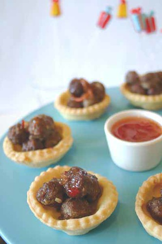 Mini Meatball Cups