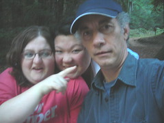 Lisa, Davina, Brad