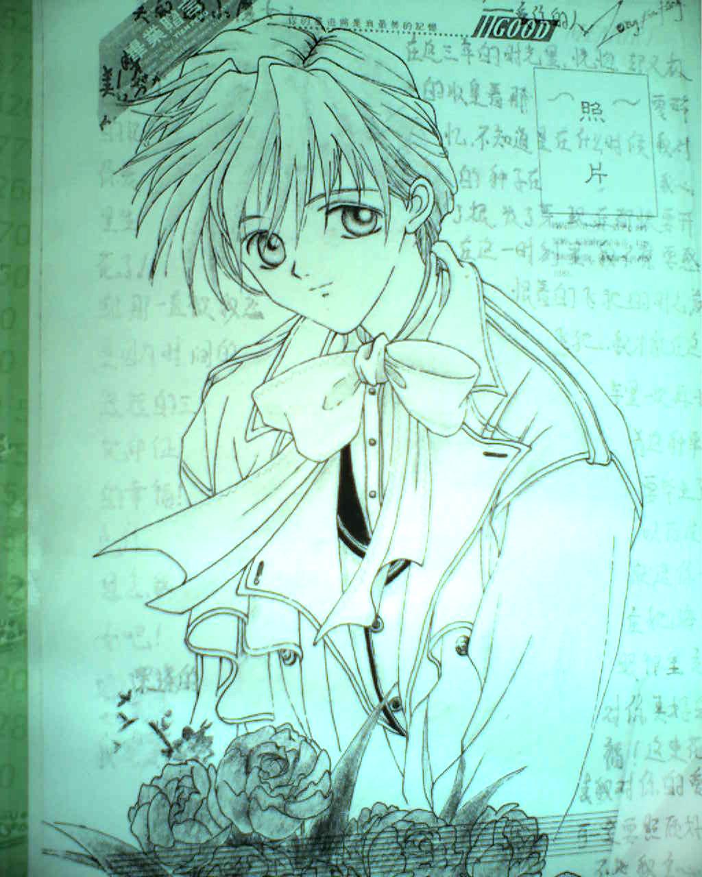 我的铅笔画!_漫画图片吧