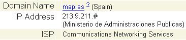 Ministerio de Admin. Públicas