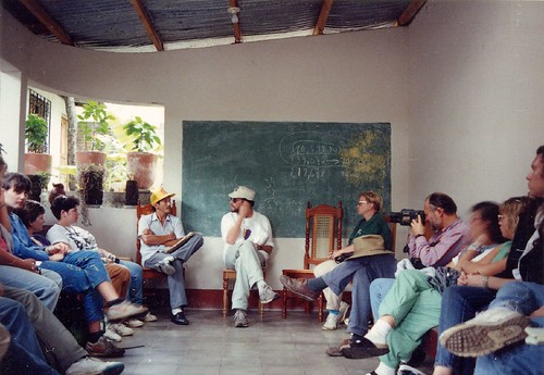 Meeting with a Contra, Matagalpa, Nicaragua 1992