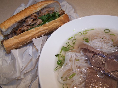 Pho Bo and Banh Mi Ga