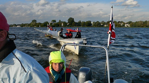 Segeln – Match Race EM 2006 an der Außenalster