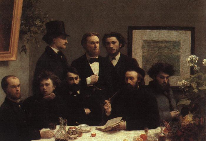 HENRI FANTIN LATOUR 1872