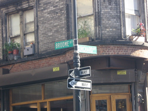 Corner of Broome and Orchard