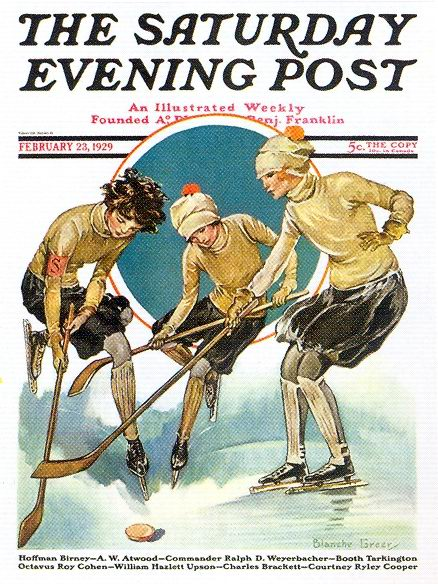 Blanche Greer, The Saturday Evening Post, February 23, 1929