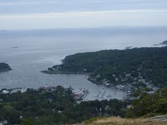 Seeing Camden From Mt. Battie