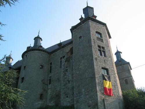 Castle: Ecaussinnes-Lalaing