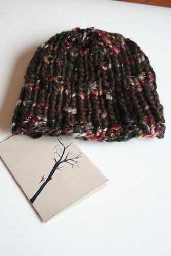 hat + card for my friend H