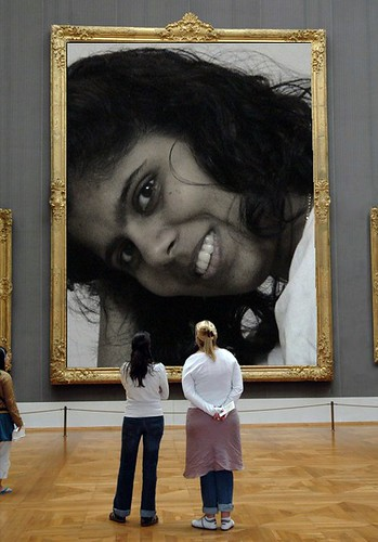 Thats Rekha for you at the Museum