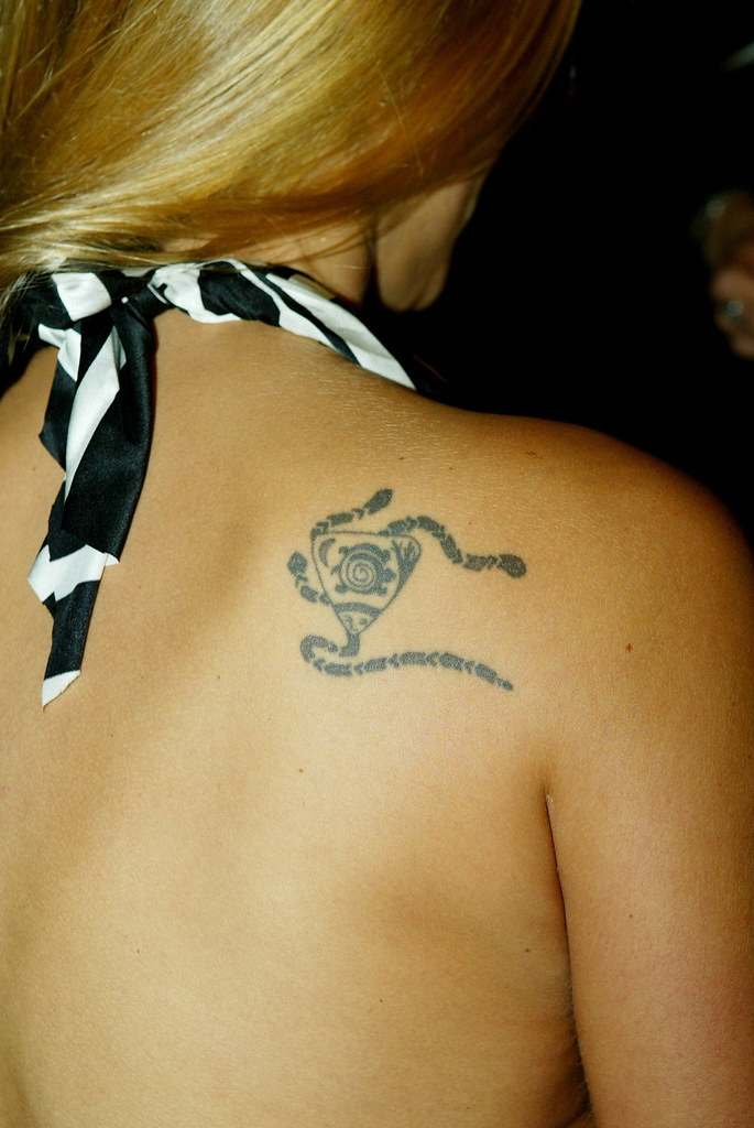 Kristanna Loken's shoulder tattoo. I just got this and haven't had time to