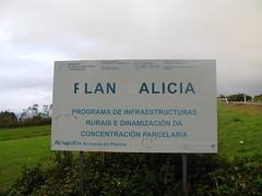 estrada N-640 , cruce de Piñeiro