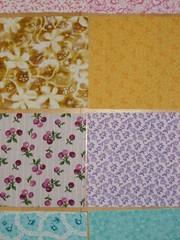 Fabric squares (2)