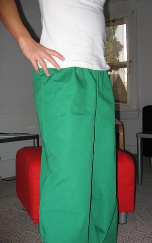 Lounge pants mods