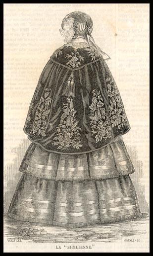Gleason's Pictorial, La Sicilienne, 1853