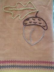 acorn towel