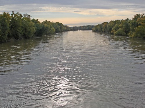 Wabash River - to the West