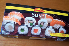 Mmm... sushi