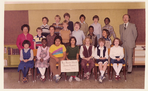 Grades 4, 5 and 6 — The Polyester Years
