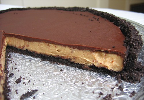 chocolate pb tart layerf