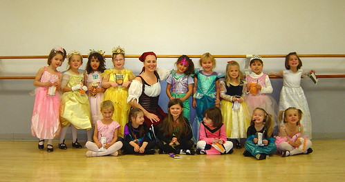 Halloween at Dance Class