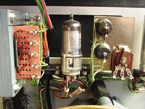 Distorsiometro detalle valvula