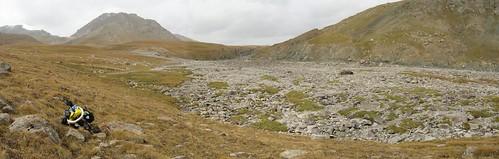 Near Kerege-Tash Pass, Kyrgyzstan
