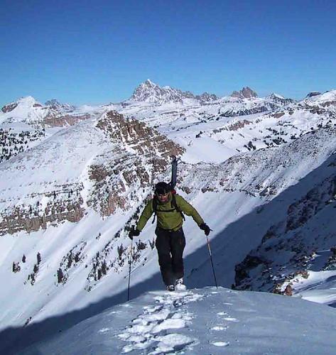 Mike ascends Peak 10,406
