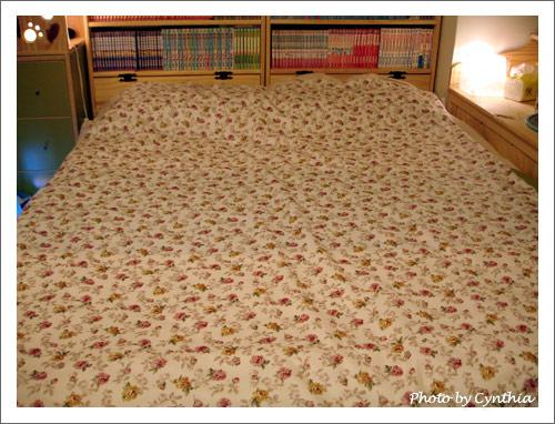 小花開滿床