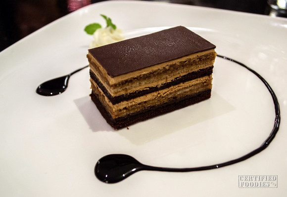 Cafe 1771 Chocolate Opera Cake