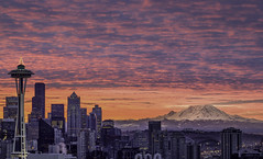 Winter Sunrise in Seattle photo by - Aman Agarwal -