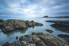 Bamburgh Rocks photo by Michael Straker