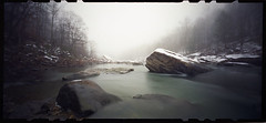 Winter River (Pinhole) photo by DRCPhoto