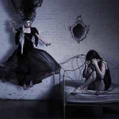 angel of darkness photo by Amy Ballinger