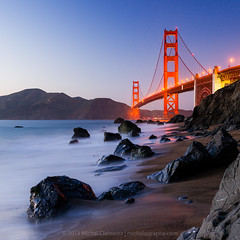 Golden Gate Glow photo by Mike Cialowicz