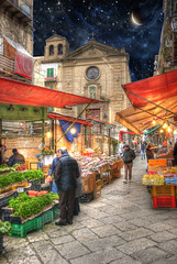 Palermo Sicily Market Place photo by Cat Girl 007