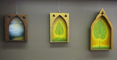 Shadow Box Shrines by Pam Sims photo by Pam Sims Fine Artist