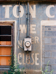 We Never Close, Denton, North Carolina, 2012 photo by Tom Powell