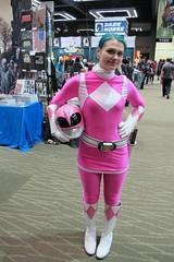 Pink Power Ranger photo by Denis Ryan