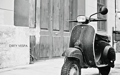 dirty vespa photo by s.f.p.