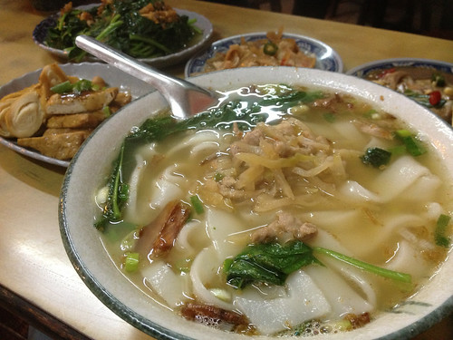 20121229 橋頭老麵店@桃園龍潭