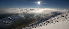 Cloud Inversion from Eel Crag photo by Nick Landells