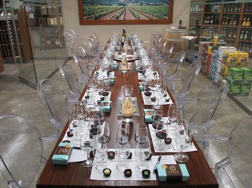 Jacek Chocolate Couture & Baseline Wines Tasting