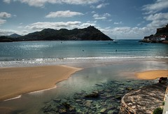 Donostia - San Sebastián - Beach- La Concha Bay - Gipuzkoa - Spain photo by F2eliminator Travel Photography