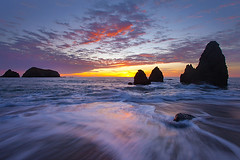 Sunset Rodeo Beach - San Francisco, California photo by Will Shieh