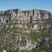 Northern cliffs of Grand Canyon du Verdon (F), Dep. Var