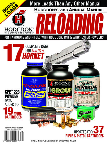 Hodgdon 2013 Reloading Manual