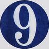 Vintage Sticker number 9